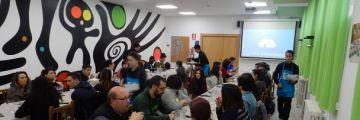 Prácticas de Hostelería durante el Encuentro Regional Programa Enlace Castilla y León
